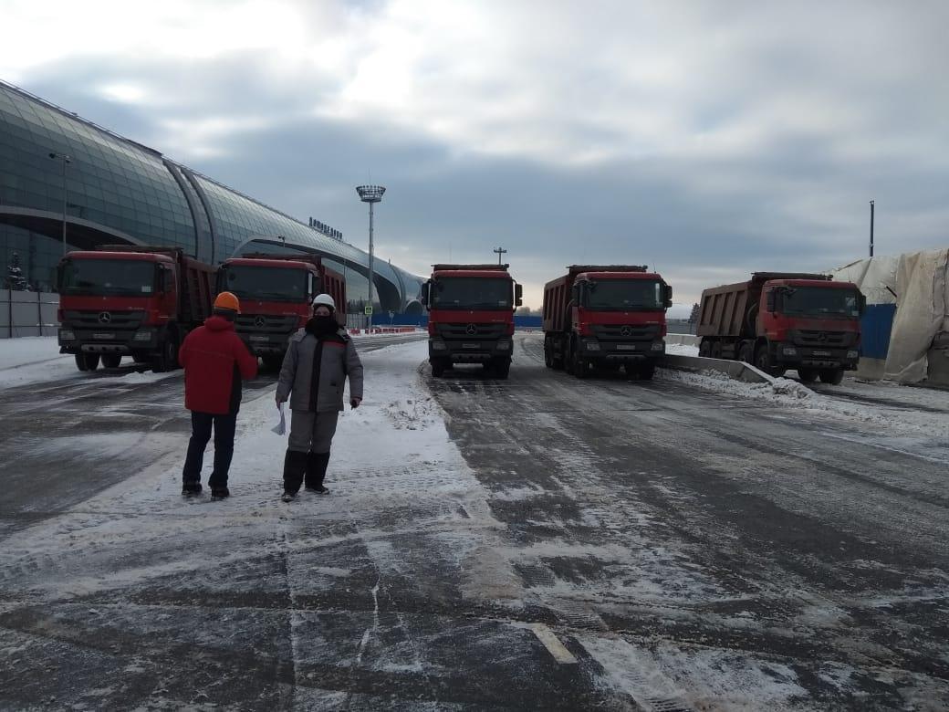 Проведение статических и динамических испытаний эстакады аэропорт Домодедово