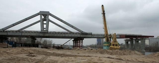 Онлайн сопровождение строительства моста способом продольной надвижки
